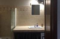 Salle de bain du gite le petit Costebelle