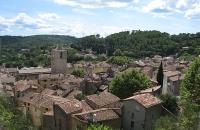 Barjols village provençal médiéval